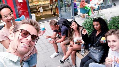 Klar for nye opplevelser? Bli kjent med en internasjonal student. Norbert Timar er studentassistent for de internasjonale studentene i Drammen og går på bachelor i visuell kommunikasjon. Han har sendt oss disse bildene.