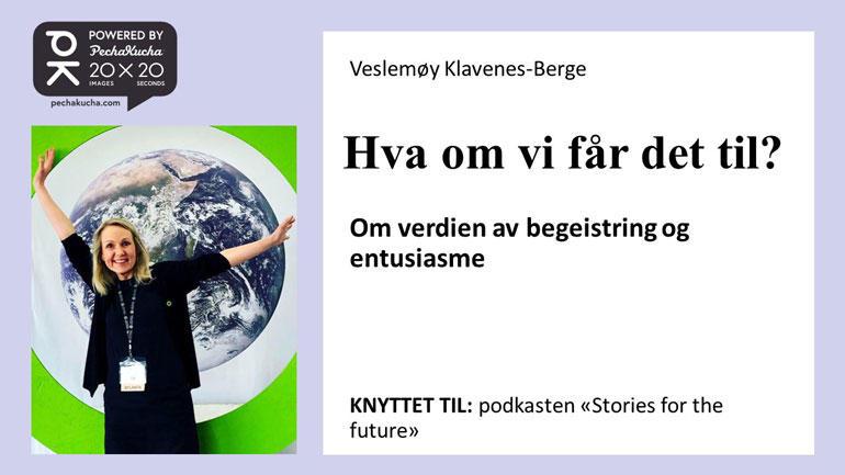 Veslemøy Klavenes-Berge. Foto