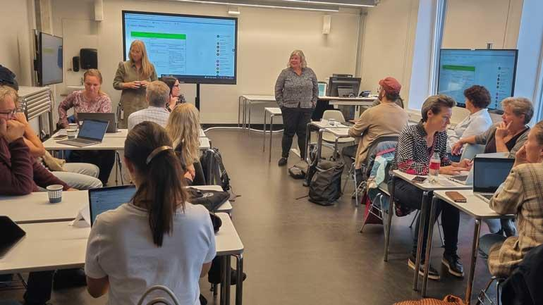 Målet med DigSam er å utvikle læringsmateriell om digital sikkerhet som kan brukes av både studenter og ansatte i helse- og sosialutdanningene.