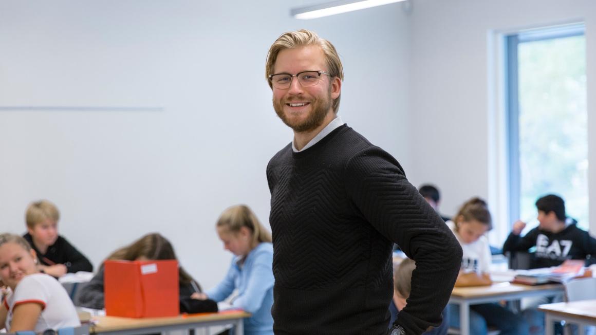 Lærerstudent ved USN