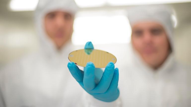 Bilde fra nanoteknologilaben ved USN