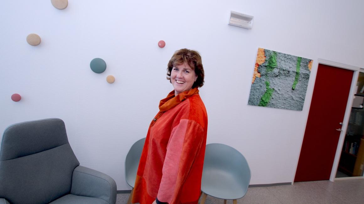Lektor i helsesykepleie Anne-May Teige