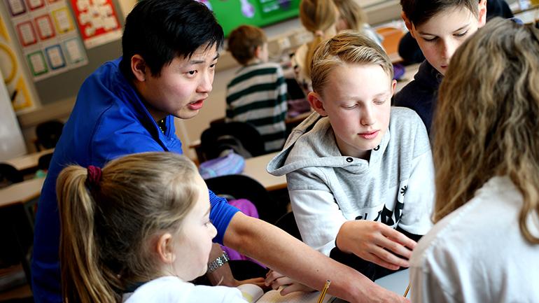 Søk lærerutdanning ved USN. foto.