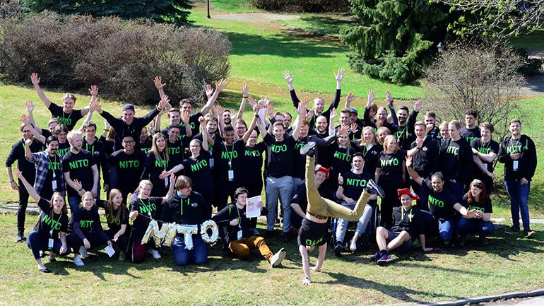 NITO-studentene ved campus Vestfold