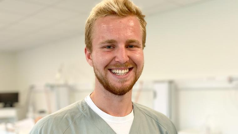 Vegard Storhaug tar bachelor i vernepleie