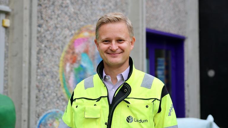 Bertil Johansen, industrimaster.