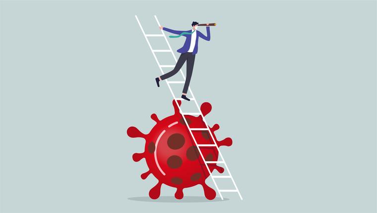 Illustrasjon ledelse etter pandemien