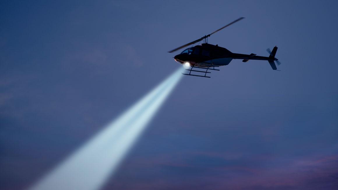Beredskapsøvelse - helikopter